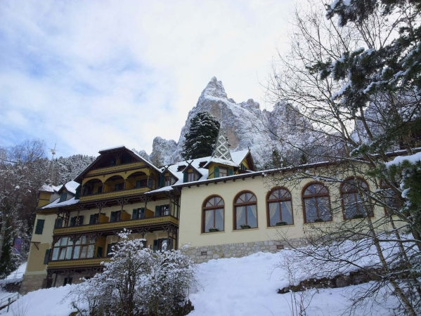 Hotel Siusi allo Scilar Montagna